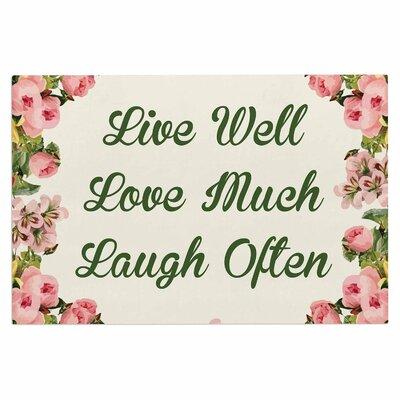 Live, Love, Laugh Doormat