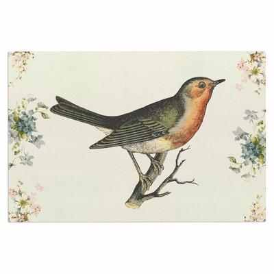 Vintage Bird 3 Doormat
