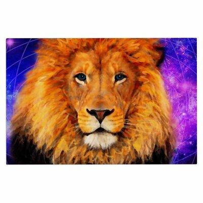 Space Lion Doormat