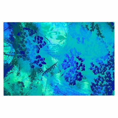 Wildflower Blue Doormat