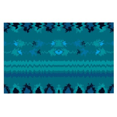 Nava Tribal Decorative Doormat Color: Turquoise/Teal