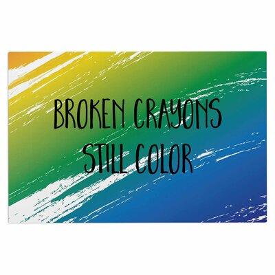 Broken Crayons Doormat