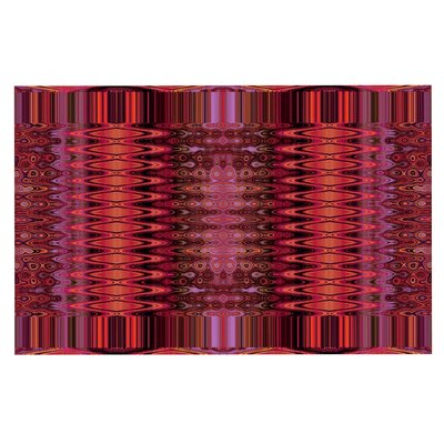 Larina Nueva Doormat Color: Spice Red/Marsala