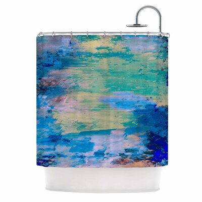 'Mineral Surf' Shower Curtain