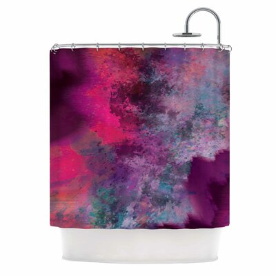 'Mineral Pink' Shower Curtain