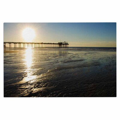 Sun Over Scripps Pier Doormat