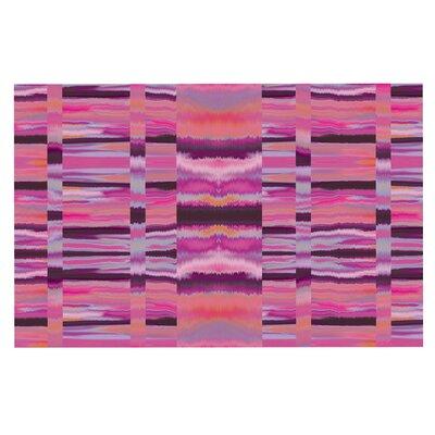 Samanna Tribal Decorative Doormat Color: Coral/Pink