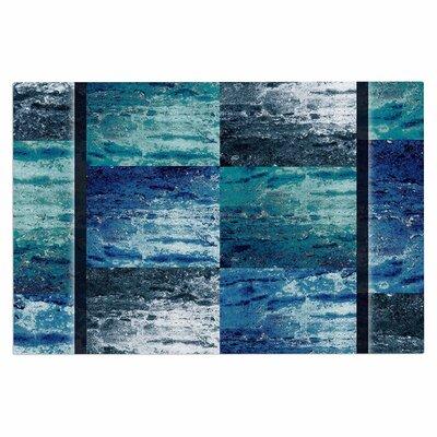 Tavertina Doormat Color: Blue/Teal