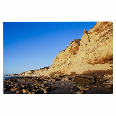 Beach Cliffside Rocks Doormat