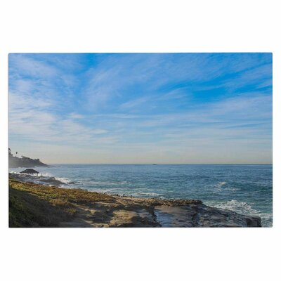 Blue Sky Over the Ocean Coastal Decorative Doormat