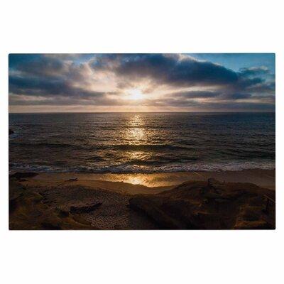 La Jolla Sunset on Beach Doormat