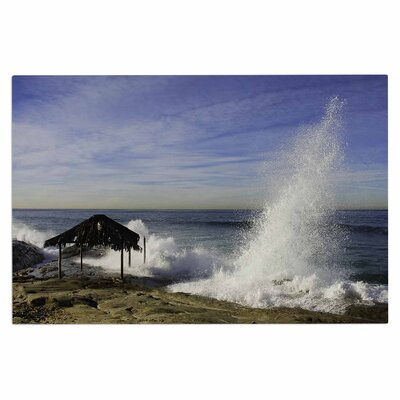 Hut with Crashing Wave Doormat