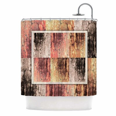 Tavertina Earth Digital Shower Curtain