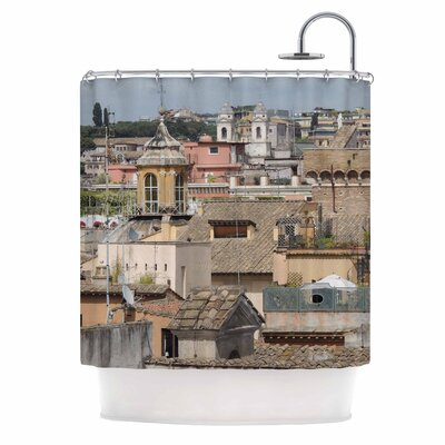 Florence Italy Hillside Photography Shower Curtain
