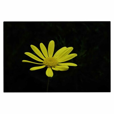 Yellow Petal Daisy Doormat