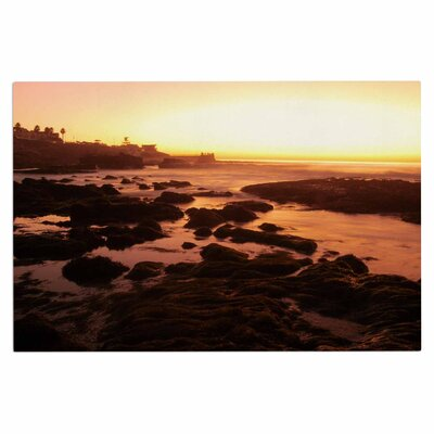 Rocks of La Jolla Sunset Doormat