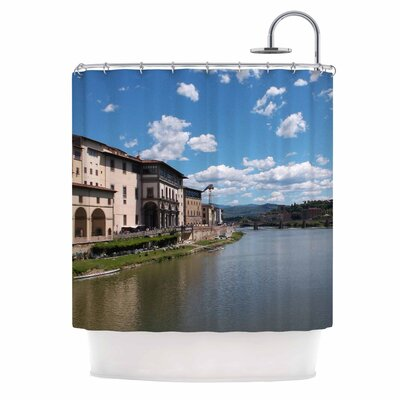 Canals of Italy Travel Shower Curtain
