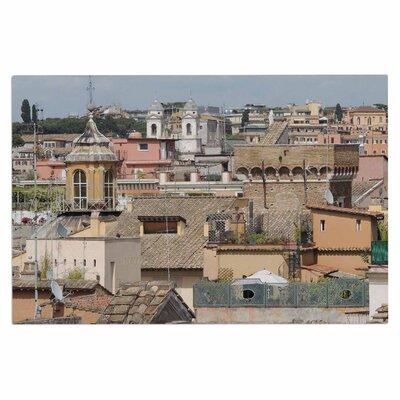 'Florence Italy Hillside' Doormat