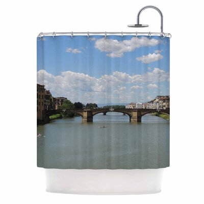 Italian Archways Nature Teavel Shower Curtain