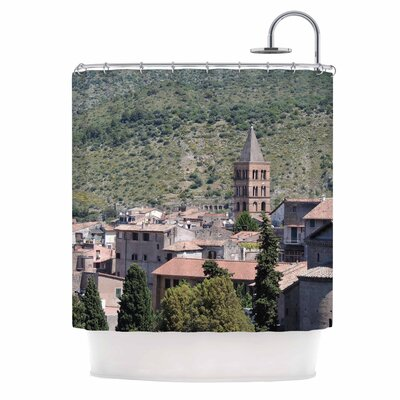 Florence Architecture Travel Photography Shower Curtain