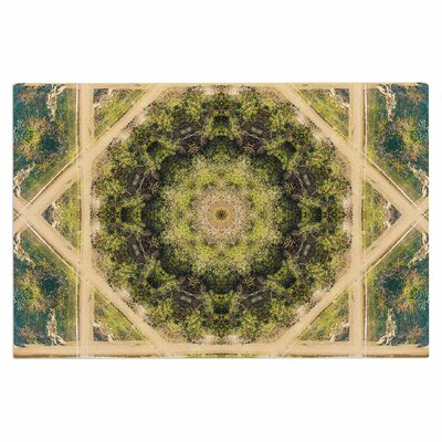 Forest Green Mandala Doormat
