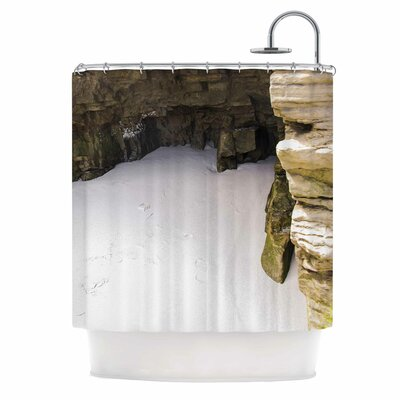Sand and Stone Walls Shower Curtain