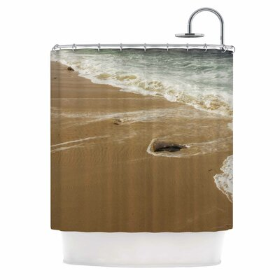 Sandy Waters Shower Curtain
