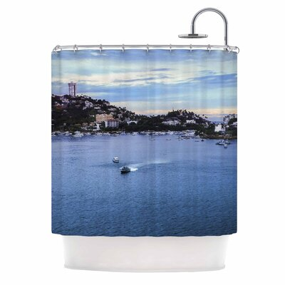 Puerto Rico Coastline Photography Shower Curtain