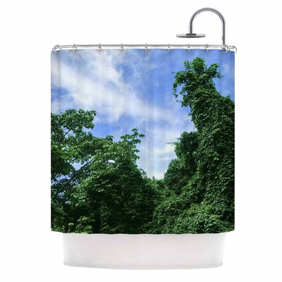 Forest in the Sky Photography Shower Curtain
