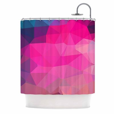Poly-Sunrise Shower Curtain