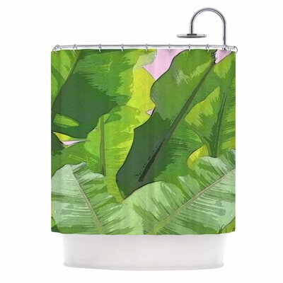 Banana Tropics Shower Curtain