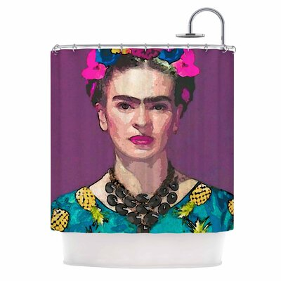 Trendy Frida Kahlo Shower Curtain