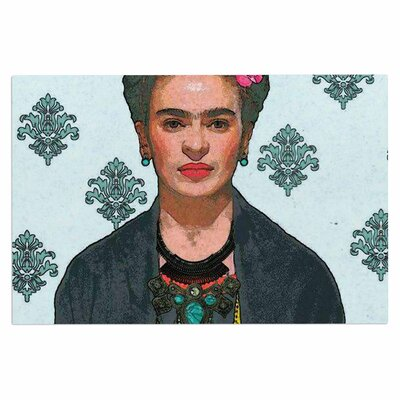 Frida Kahlo-Trendy V2 Doormat