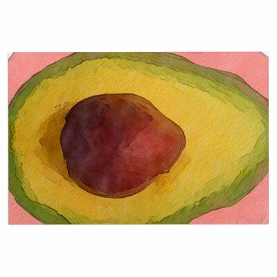 Avocado for Lola Doormat