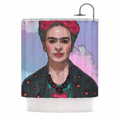 Trendy Frida Kahlo-Ferwell Shower Curtain