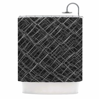 Urban Metal Links Photography Shower Curtain