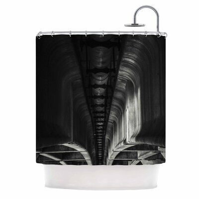 Under Bridge Arches Photography Shower Curtain