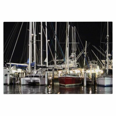 Dinner Key Marina Coastal Decorative Doormat