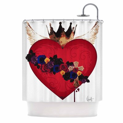 Sacred Heart for Frida Shower Curtain