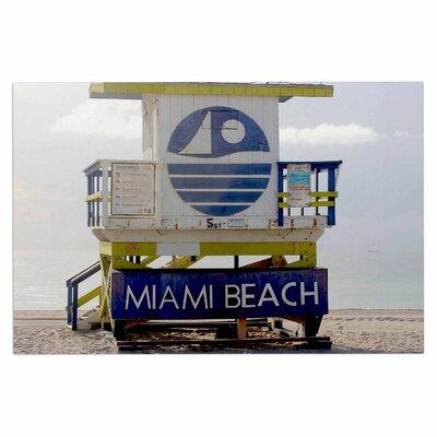 Miami Beach Lifeguard Doormat