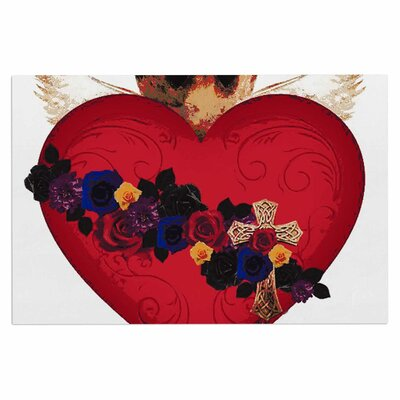 'Sacred Heart for Frida' Doormat