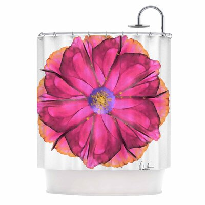 Athena-Flower Shower Curtain