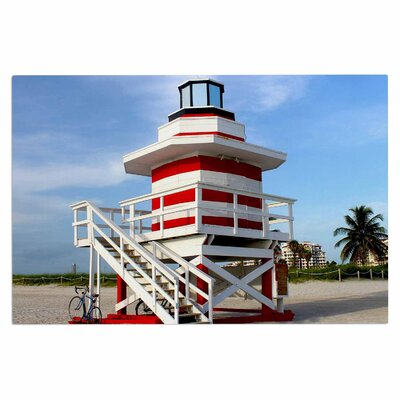 Lighthouse Lifeguard Stand Doormat