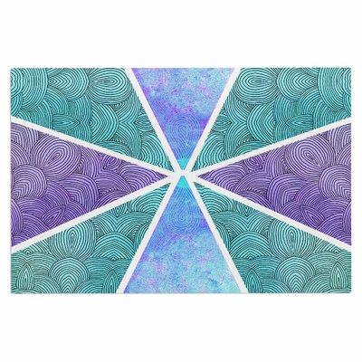 Reflective Pyramids Doormat