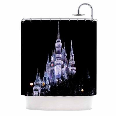 Frozen Castle Photography Shower Curtain