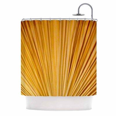 Golden Curtains Shower Curtain