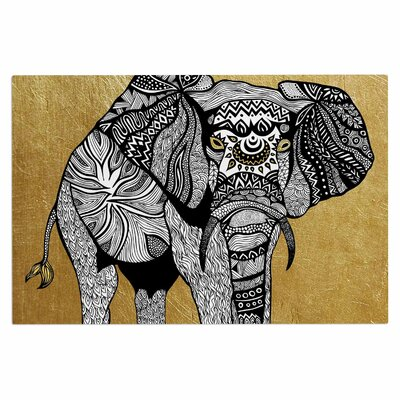 Golden Elephant Doormat