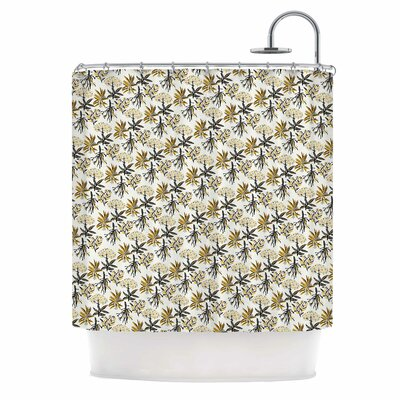 Golden Apothecary Shower Curtain