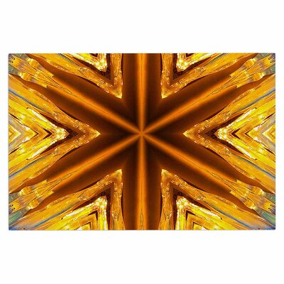 Gold Star Icicles Doormat