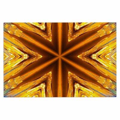 Gold Star Icicles Doormat